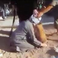 【グロ動画】20XX年、世紀末に起きたとある内戦の斬首映像・・・