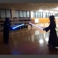 【衝撃映像】剣道でライトセイバー使ってみたwが海外で大反響www