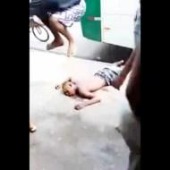 【閲覧注意】泥棒の顔面を踏みつけ頭蓋骨粉砕したった ※動画有り