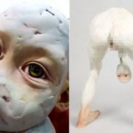 【グロ画像】韓国人が作った現代アートが「本当に気持ち悪い」と話題に