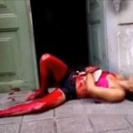 【閲覧注意】目の前にこんな血塗れの美女が倒れてたらどうする???