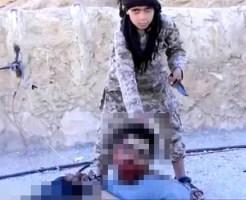 【ISIS】こんな可愛い子供に首斬らせるとかキチガイ過ぎる・・・
