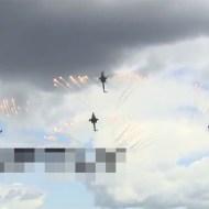 【衝撃映像】ロシアのヘリがパフォーマンス中落下・・・死亡事故映像