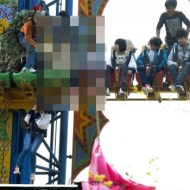 【閲覧注意】遊園地の線路に子供が座ってる・・・その後が悲惨すぎる