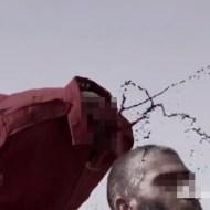 【超鳥肌映像】首斬りをスローモーションで見れる神動画・・・