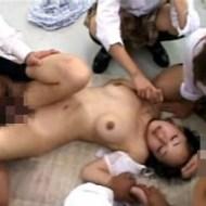 【校内レイプ動画】同じクラスの女生徒にいじめられクラスの男子全員の子種を注がれたJK・・・誰の子を妊娠したのか解らない・・・