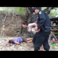 【閲覧注意】小さい娘が切り殺された姿をみた母親の精神が壊れる瞬間・・・