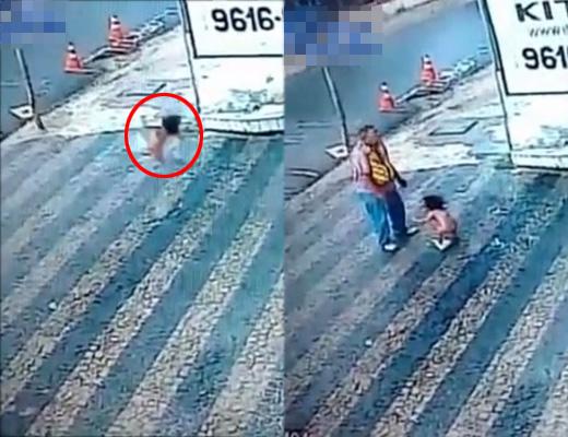 【奇跡】3階から落下した赤ちゃんが無傷生還 刃牙だったwww