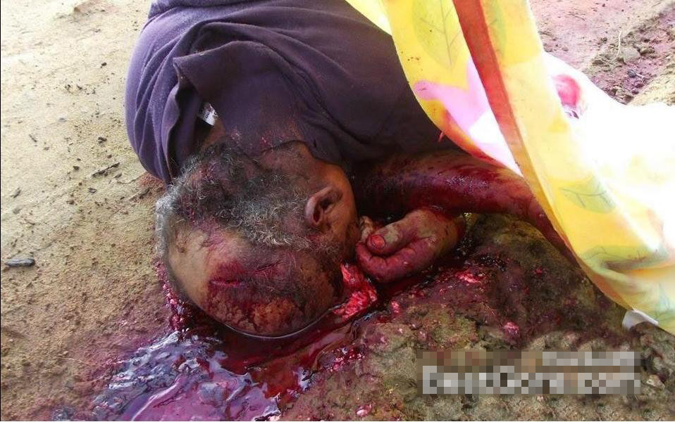 【グロ画像】強殺された農夫の遺体がグロ過ぎて笑えない・・・ ※超閲覧注意