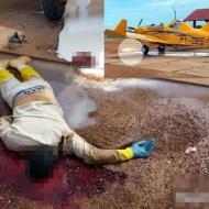【閲覧注意】飛行機のプロペラで切断された頭の切断面が綺麗過ぎる・・・