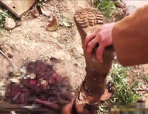 【イスラム国】飛行機に乗って墜落死したらどんな遺体になるかよく分かる映像 ※ISISのイラク戦闘機撃墜