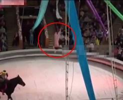 【悲劇】子供の時にサーカス行って目の前で事故発生したらトラウマになると思う・・・ ※衝撃映像