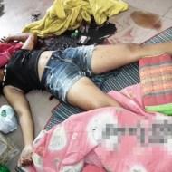 【グロ注意】リアルで一人暮らし女性の部屋に強盗が入った後がこちら・・・