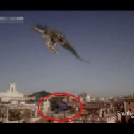 【衝撃映像】ハヤブサが獲物ハントする瞬間スローで見てみた これは逃げれんわw