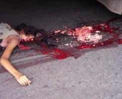 【グロ動画】トラックに轢かれバラバラになってしまった男性…。※閲覧注意