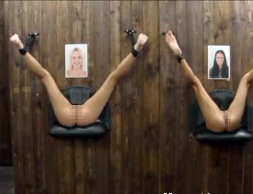 【エロ無修正】チェコの売春宿に言ったら壁からマ●コが出てやり放題だった件w