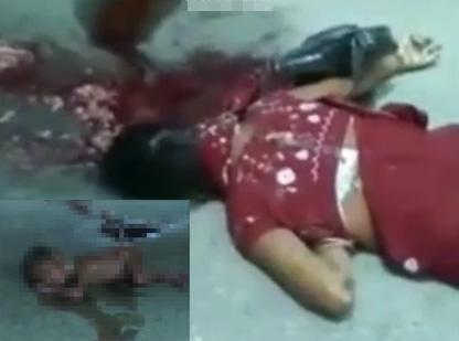【グロ動画】妊婦をトラックで轢いたら中の赤ちゃん脱出した・・・