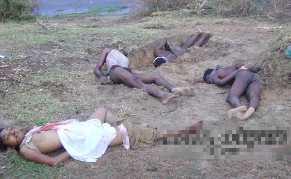 【レ●プ 死体】女で紛争地域の現地レポート行った結果→政府軍に殺害されたのがこれ・・・ ※グロ画像