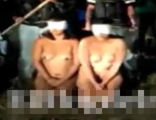 【処刑】カルテルに捕まった女が素っ裸でバラバラにされてドラム缶焼きの刑に ※グロ動画