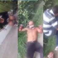 【グロ動画】マフィアに手首切り落とされた人達が路上でもがいてるんだが・・・ ※閲覧注意
