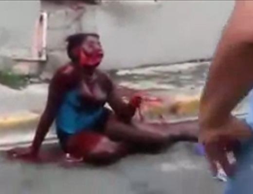 【閲覧注意】顔エグれて血まみれの女がレスキュー求めてるけど怖いからスルーした・・・ ※動画