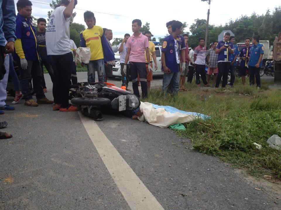 【グロ画像】どう見ても小●生にしか見えないカップルがバイクで事故死してるんだが・・・ ※閲覧注意