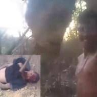 【閲覧注意】カルテルが森で斧で断頭首切り運動会開催したビデオレターが届いた・・・ ※グロ動画