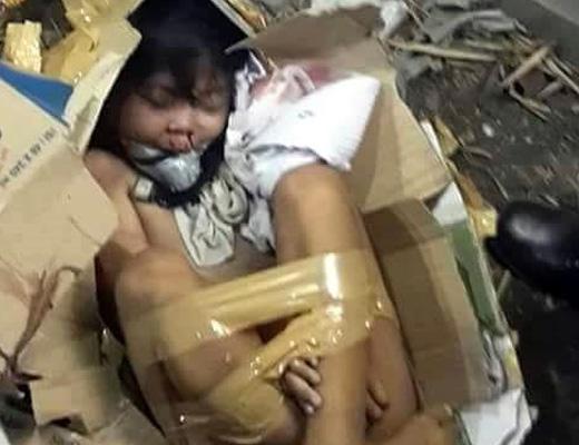 【閲覧注意】行方不明になっていた9歳の女の子がダンボールで箱詰めされて殺されてた・・・