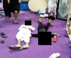 【閲覧注意】サウジアラビアモスクに謎の武装集団が襲撃・・・5人を射殺