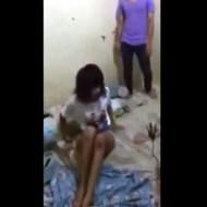 【閲覧注意】可愛い女の子がいじめで殴られてる姿は見るのがつらい・・・