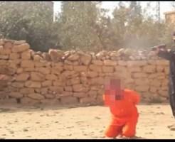 【ISIS】火炙りの次は射殺・・・シリア兵をショットガンをぶっ放して処刑・・・