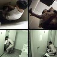 【本物レイプ】中国のトイレで監視カメラに撮られたレイプ映像がヤバい…