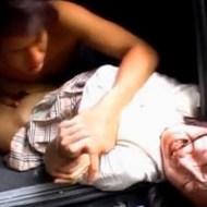 【女子校生強姦】車で拉致して両手両足をガムテープで拘束 泣きながら激しく犯されるJK ★無修正