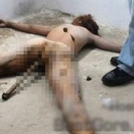 【レイプ殺人】鉄パイプを深く挿された状態の女性が見つかる。これは酷すぎる・・・。(4枚)