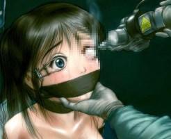 【グロ2次画像】美女が首吊り、拷問されているリョナ画像まとめ2