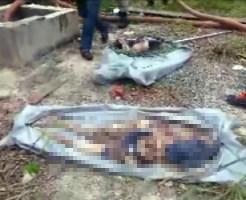 【閲覧注意】貯水タンクの中に少年二人の遺体が。引き上げ作業の動画像がヤバい。