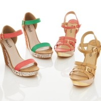 Bucco Platform Wedge Sandals (2 Styles) $34.99 Shipped