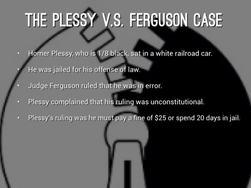 Medium Of Why Was Homer Plessy Arrested