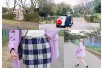 [穿搭]呼吸著陽明山的好空氣,穿著韓國官網CHUU家的衣服,就是幸福 : )