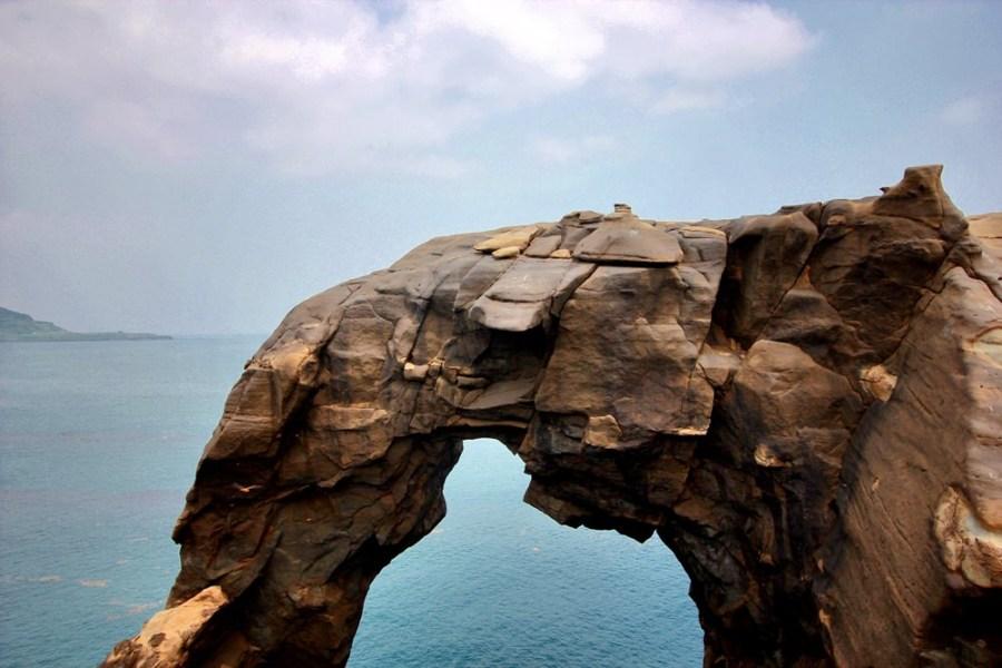 新北旅游景点/瑞芳深澳岬角象鼻岩景观区,一起来朝圣看海岸旁的大象吧