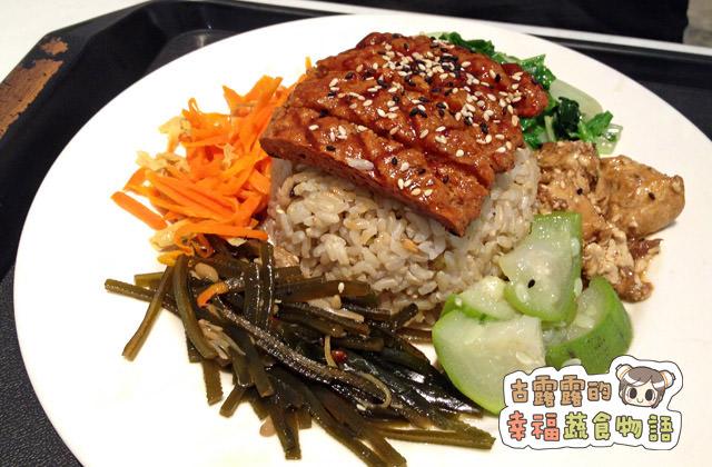 【台北】善緣堂素食館,每日變化菜色的美味便當、簡餐(2015/12補照