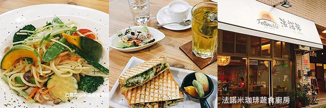 taipei-metro_food-法諾米珈琲蔬食廚房