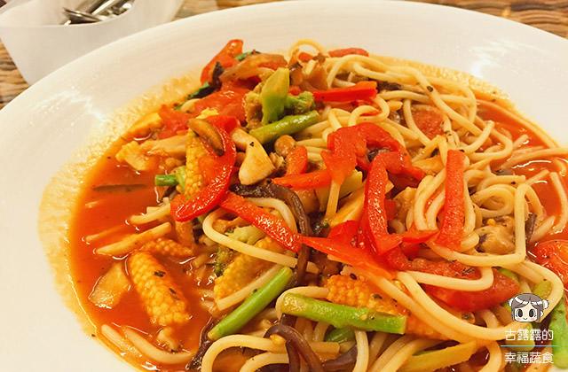 [新北] 唐果蔬食料理|中西日 異國料理手牽手 淡水美食