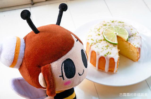 小廚娘日常料理 ▌酸甜又淘氣的 檸檬糖霜蛋糕|奶蛋素甜點|漫畫料理