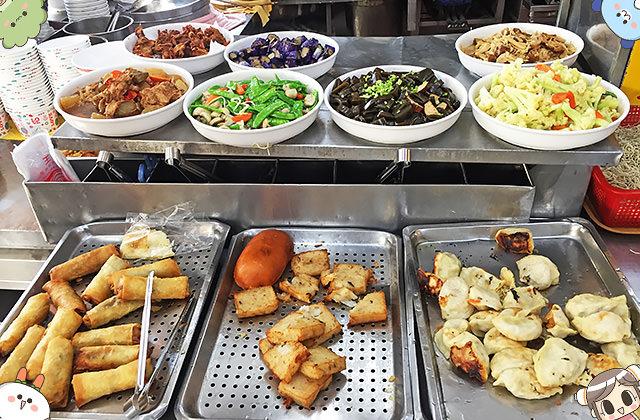 [台南] 清祺早點 素菜點心|台式、港式點心 早餐到晚餐