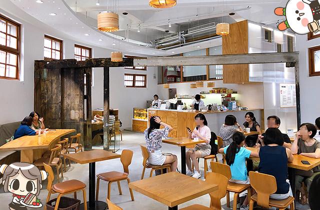 [台北] 明日咖啡 MOT CAFÉ|新富町文化市場 歷史與現代 x 文青咖啡店