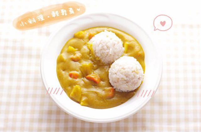 露露日常料理 ▌香味誘人的金黃咖哩飯~咖哩粉施魔法!