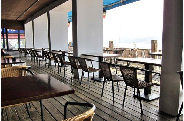 [台北] 觀海餐廳〔海灣咖啡館〕與夕陽夜景 共度悠閒用餐時光 (葷素