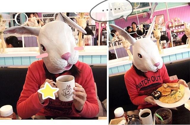 【台北】主題餐廳〔Rabbit Rabbit 兔子兔子美式餐廳〕師大店(葷素.已歇業