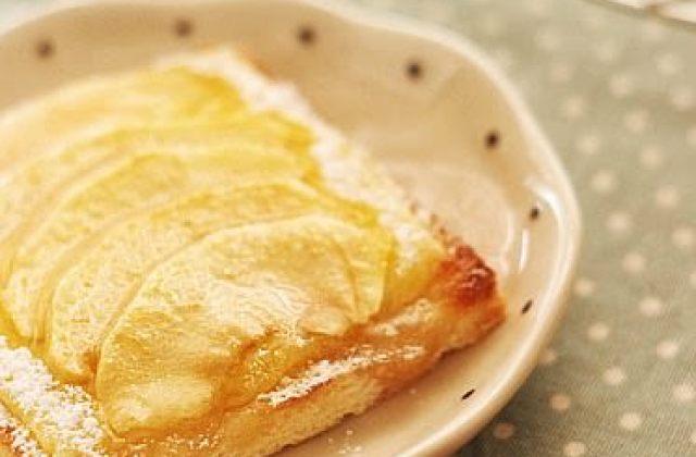 【料理大變身】蘋果烤吐司~用新鮮蘋果烘焙的健康點心!